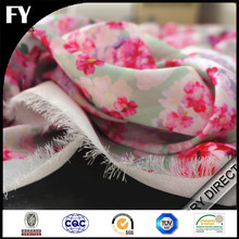 OEM assured custom digital printed 100% silk wholesale felt fabric