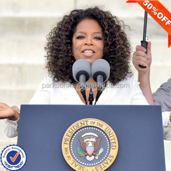Hot sale wholesale natural hairline full lace wig oprah curl full lace wig lace wig