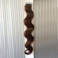 tape skin hair extension, double tape hair weft easy to apply with