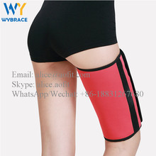 2017 Weight Loss Products Slimming Thigh Leg Shaper Compression Thigh Wrap Slimmer