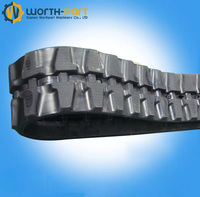 320*86 Rubber digger track shoes