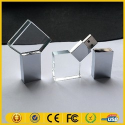 Hot new products for 2015 popular glass usb flash drive with life warranty