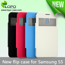 High quality Sublimation flip cover for Samsung Galaxy S5
