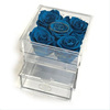 Elegant Transparent Acrylic Flower Case Lucite