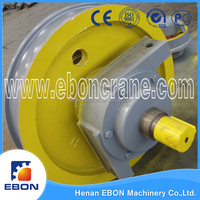 Material Handling Equipments PartS Forging Crane Wheels Blocks Used for Crane