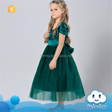 SD-981G taobao wedding dress kid floral dress with lace for party names of girls dresses