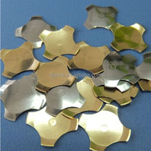 nickel coated brass precision contact plate