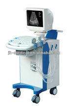 JH-9002 10 inch VGA monitor Trolley Portable Ultrasound Scanner with Probe Automatic Identification