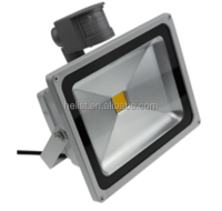 High lumen 2year guarantee super strong die cast aluminum solar led flood light with pir motion sensor