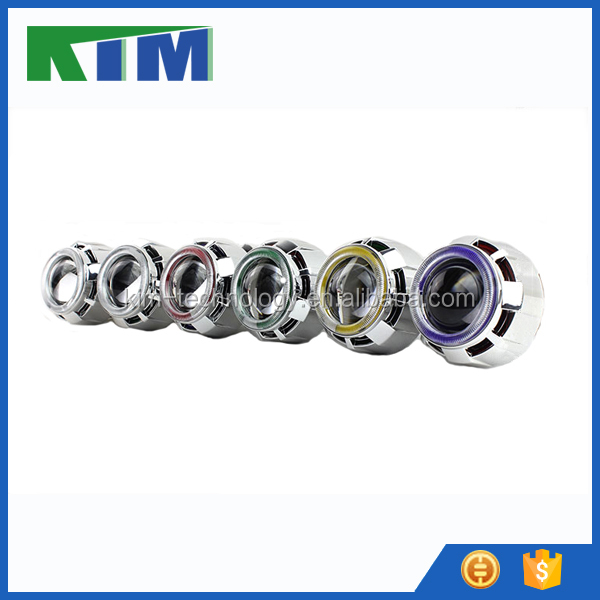 Motorcycles headlight 2.5 inch bi xenon projector lens for sale