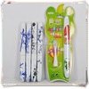 Hello kitty design customized toothbrush battery powered travel toothbrush