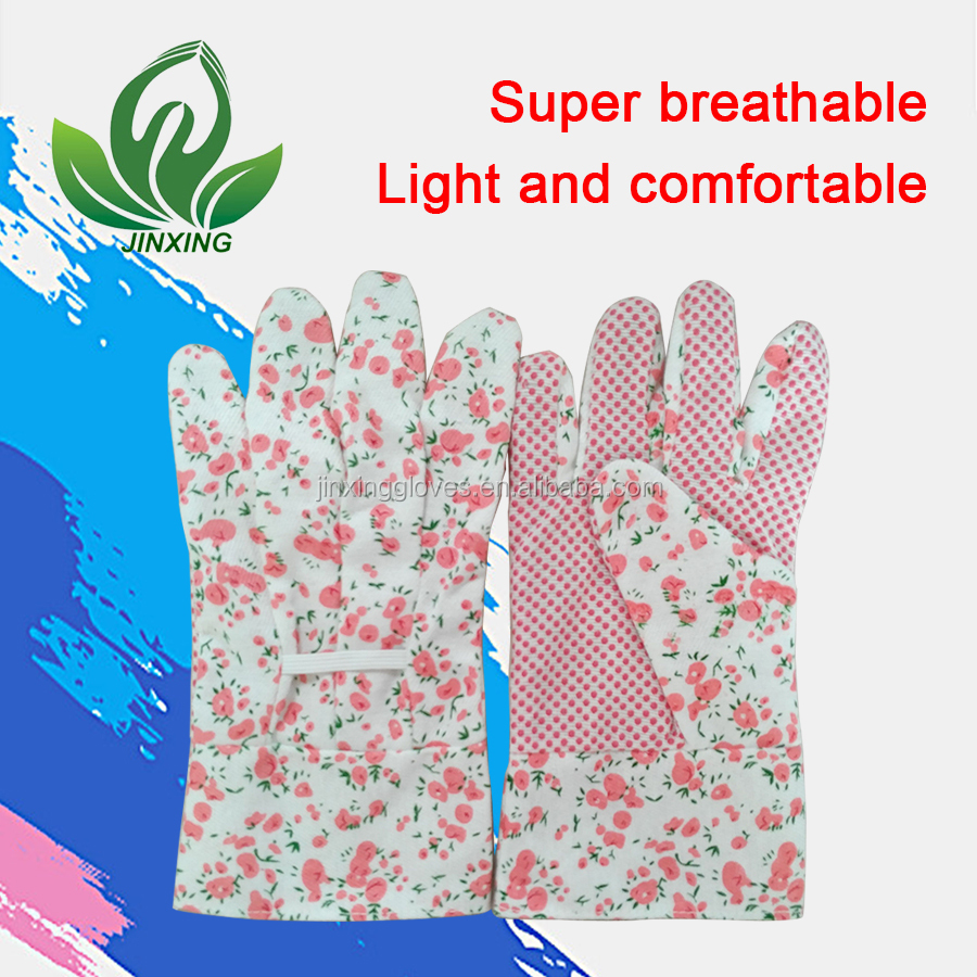 gardening gloves gardening color printing gloves flowers and vegetables horticultural protection anti - cutting gloves