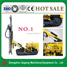 KG910A Pneumatic & Hydraulic Borehole / Blast Hole / Rock Rotary Crawler Drilling Rig For Sale