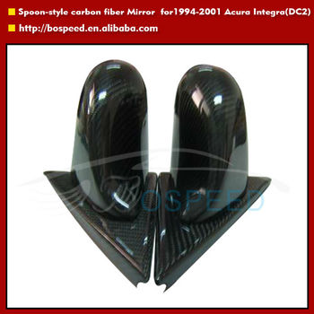 Spoon style carbon fiber mirror for 1994-2001 Acura Integra style (DC2)