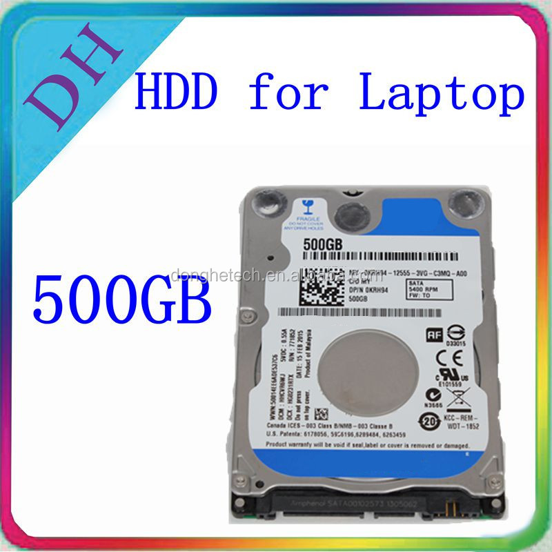 Laptop hdd 500gb 5400rpm notebook 2.5 sata hdd 9.5mm hard disk 500 gb laptop