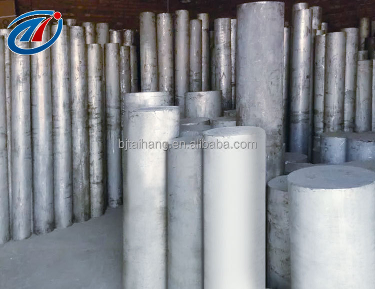 Round shape aluminium billet bar 6063 6061 widely used in construction industry