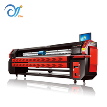 Best price fast speed 3.2m KINGJET KJ-3208E digital flex banner printing machine with konica head
