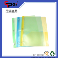 Office & School Supplier Printed PP Stationery Transparent Easy File Folder