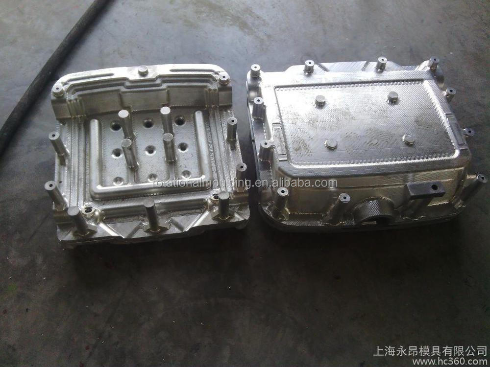 Roto mould for rotomoulded furniture by rotomolding in roto molding tooling injection plastic mould