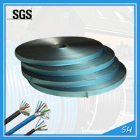 Cable shielding material insulation colored aluminum foil