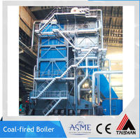 Chinese Credible Manufacturer Coal Fuel DHL Hot Water Boiler Machine