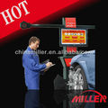 MILLER high speed 3d four wheel alignment machine for workshop with 5000000 pixel camera,32'LCD(ce certification)