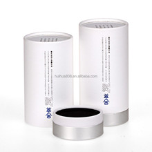 Round paper box for perfume outer packing