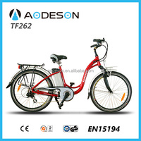 City electric bike China factory 350W 8fun motor bicycle electric tricycle