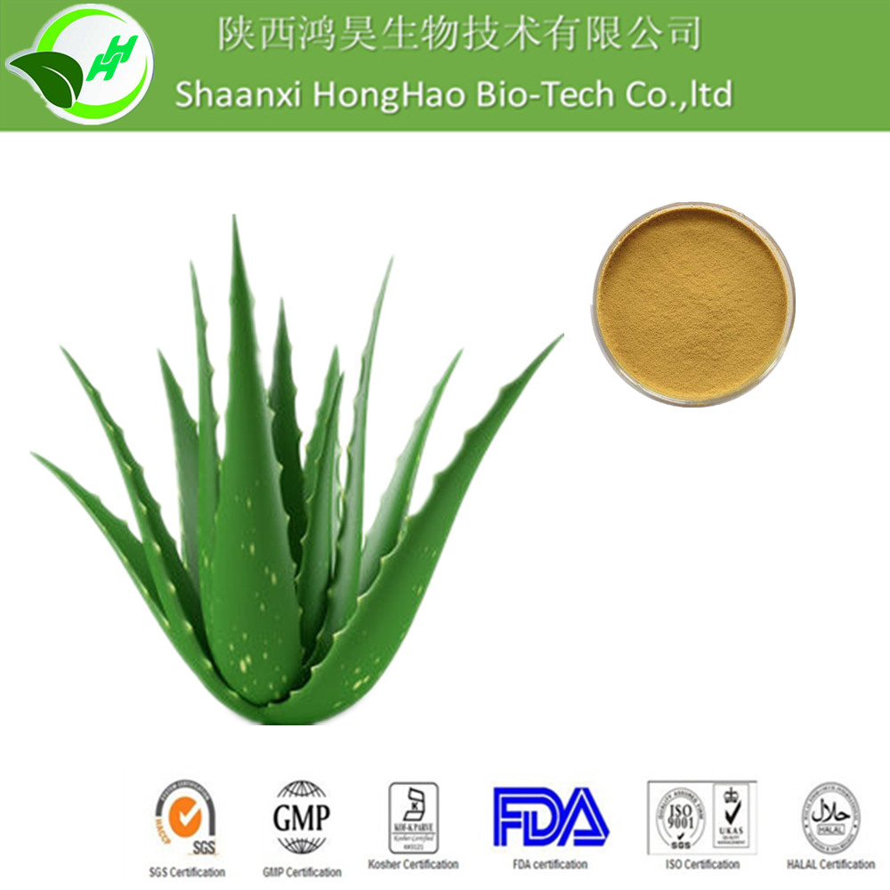 Best Natural Laxative CAS No.1415-73-2 Yellow Powder HPLC 90%-99% aloin