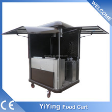 china manufacturer Shanghai Yiying factory supplier YY-FS175R mini refrigerated kebab van truck sale