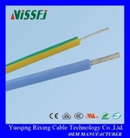 silicone rubber tube insulated coated wires and cables