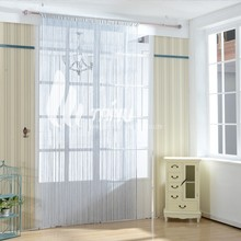 HOT Window Curtain Panel Room Divider Curtain String Line Rainbow Tassel Decor