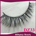 DZ33 style 100% Real Horse hair winged false horse fur hair wild lashes