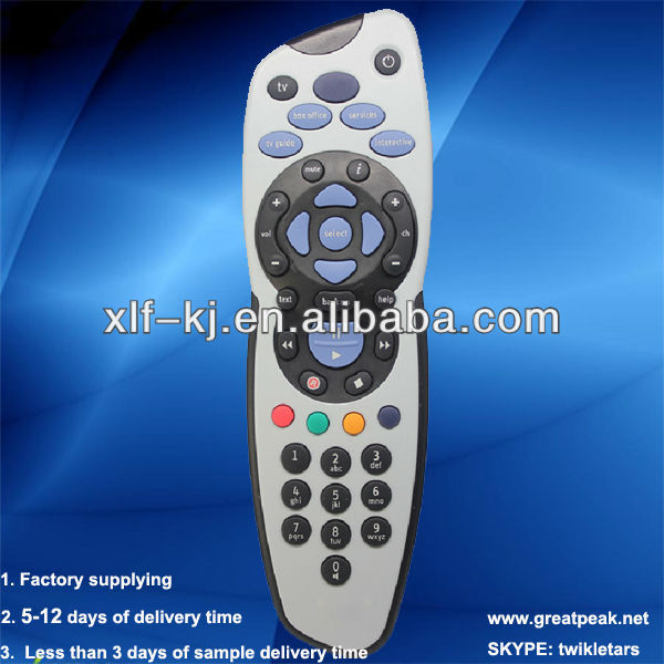 skybox s12 hd SKY PLUS remote control unit Shenzhen factory remote controller tv remote control remote control switch
