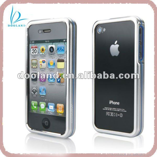 Aluminium front and back case for iphone 4