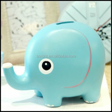 promotional customized elephant money box;make your cute coin bank for kids;custom high quality cheap piggy bank factory