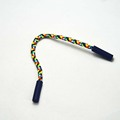 colorful string silicone injected head zipper puller