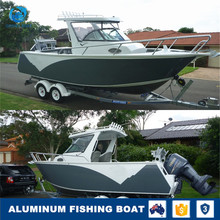 2018 Center Cabin Aluminum Fishing Yacht Boat with Folding Seat for Sale