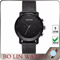 Japan movt quartz watch stainless steel back quartz stainless steel watch water resistant