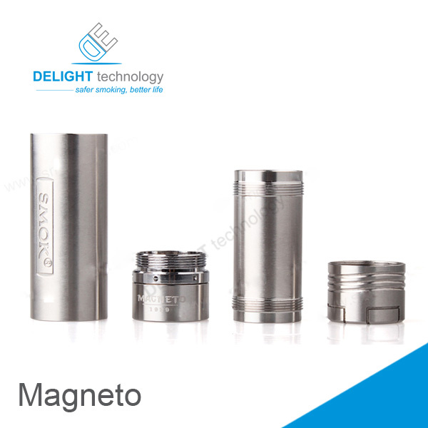 Delicate design ecig ecig china manufacturer magneto full mechanical mod smoke magneto mod high quality magneto vaporizer