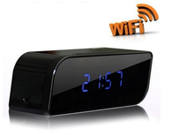HOT SALES Wifi 1080P Hidden Spy Cam IP Camera Alarm Clock Mini Camcorders HD Camera