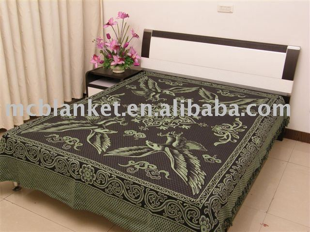 wholesale Cotton Jacquard Blanket