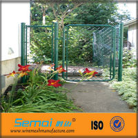 Cheap Portable PVC Coated Galvanized Chain Link Fence Panels Hot Sale