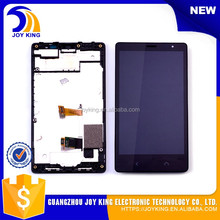 12 month warranty Wholesale original spare parts Replacement lcd screen for nokia x2 assembly with frame