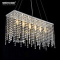 Rectangle Crystal Chain Chandelier Pendant, Ceiling Chandelier Pendants Lights MD8591