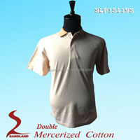 Double Mercerized Cotton Polo Shirt Online Shopping 2016 brand polo tshirts