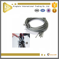 Light safety steel wire brake cables