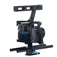 Alloy Alluminum GH4/A7S Cage Rig with Camera Cage,Follow Focus for Black Magic Design Cinema/Cameras Movie Making Camera