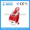 Portable Folding Shopping Trolley Bag With Wheels