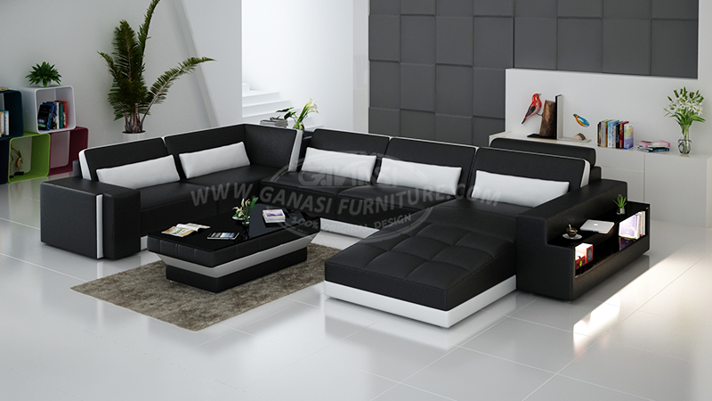 Ganasi Designer Leather Sofa Furniture View Designer Leather Sofa Furniture Ganasi Product